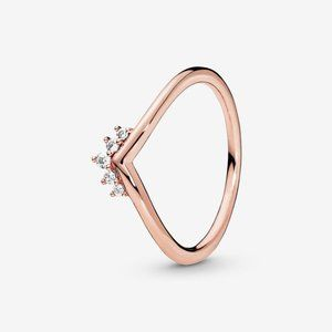 🔥PANDORA Tiara Wishbone Ring